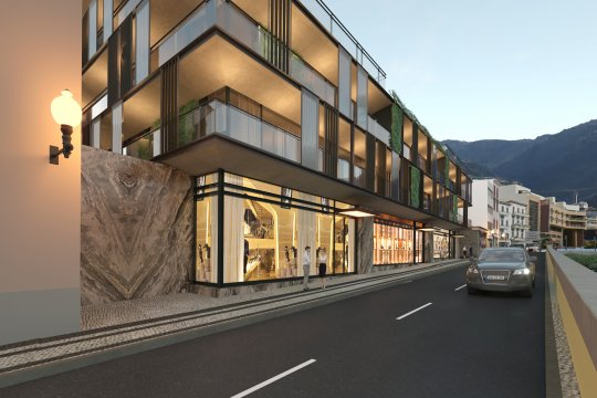 Commercial Areas - Savoy Residence | Insular
